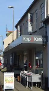 Kop & Kande's facade på Bredgade