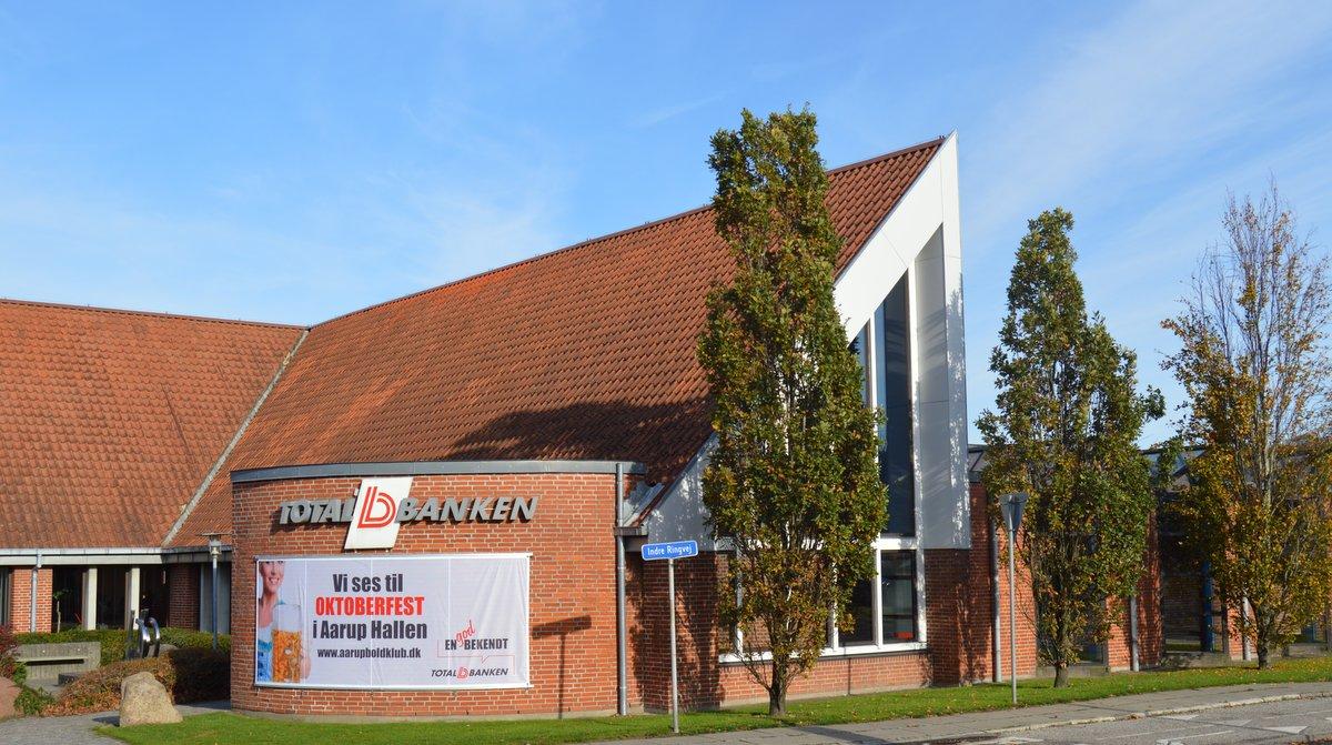 Totalbankens hovedkontor i Aarup