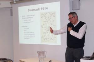 Nils Arne Sørensen fortæller om Danmark under 1. Verdenskrig