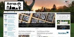 Forsiden på Aarup.dk den 19. januar 2015