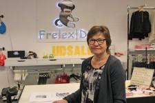 Helle Andersen er den nye ejer af Frelex i Bredgade. Der er overdragelsesreception den 7. februar med gode tilbud hele dagen. Foto: Folkebladet