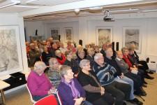 Et kig ud over tilhørerne til immigrationsforedraget.
