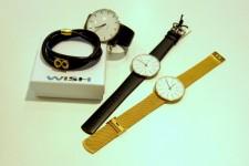 Ure fra Daniel Wellington og Arne Jacobsen samt smykker fra Wish sælger godt . Foto HW