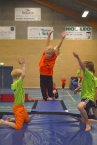 Indvielse af springhallen - AB Gymnastik @ Aarup Fritidscenter