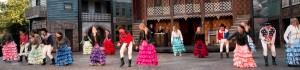 Der er flotte dansescener i stykket