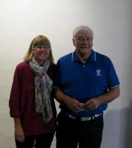 Merete og Hans har i mange år været en fsat del af Aarup Fritidscenter- Foto:MJ