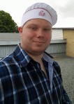 Patrick Helm er den nye bager i Aarup. Foto fra facebook