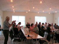Billede fra borgermødet. Foto:hw.