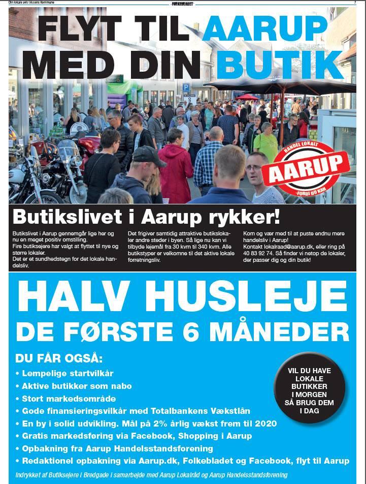 Aarup lokalraad pressemeddelelse 20 juni
