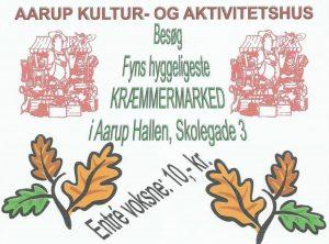 Fyns Hyggeligste Kræmmermarked @ Den gamle hal | Aarup | Danmark
