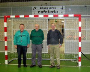 Fra venstre mod højre: Alfred Brauer, Henry Borup Christiansen og Mogens Ancker. Foto: hw