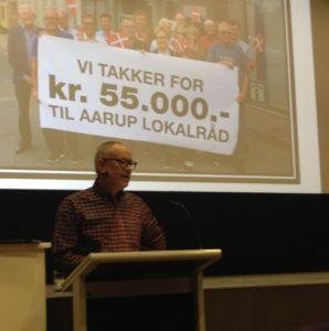 Formand for Aarup Lokalråd, Kjeld Alsholm. Foto: Henrich