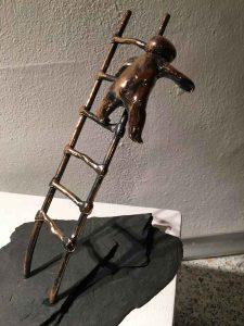 Akvareller og skulpturer i Galleriet @ Galleriet, Aarup Bibliotek | Aarup | Danmark