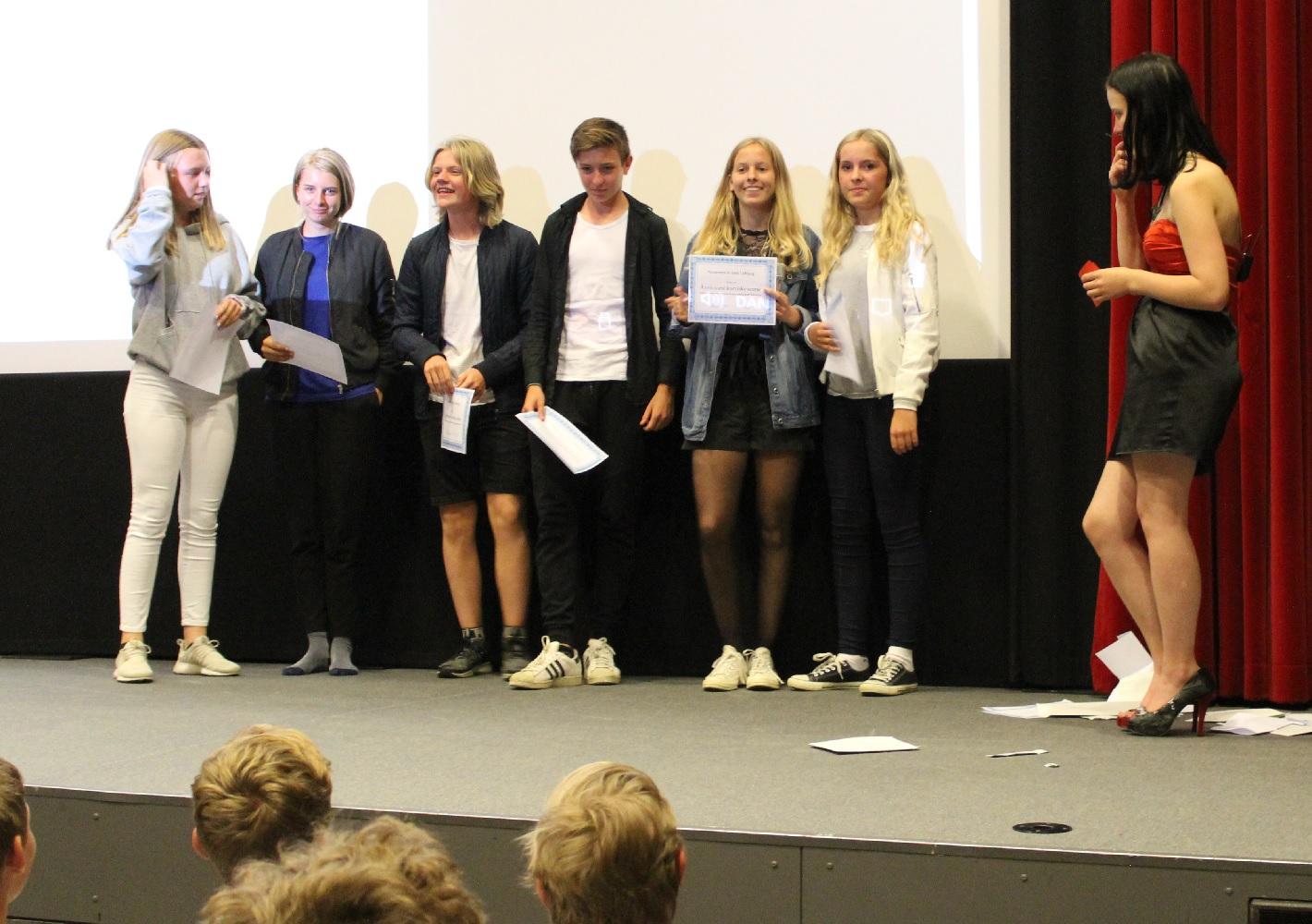 Aarupskolen holder Oscarfest i Aarup Bio