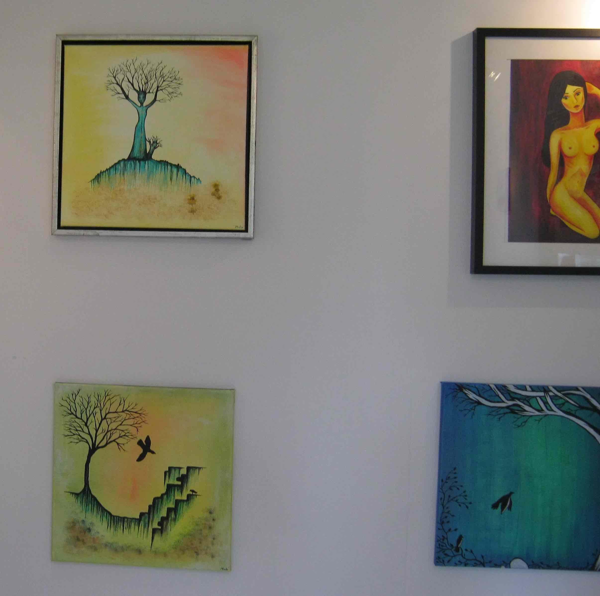Forår i Kertes galleri