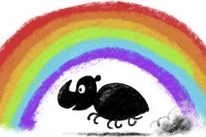 Børneteater - Regnbuebillen @ Aarup Bibliotek