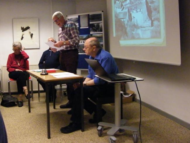Velbesøgt generalforsamling i  Aarup lokalhistoriske Forening
