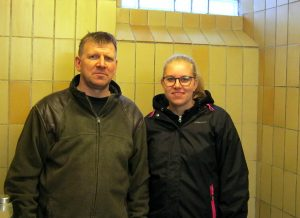 Per Broholm og Simone Jensen fra Fyns Gourmetkød