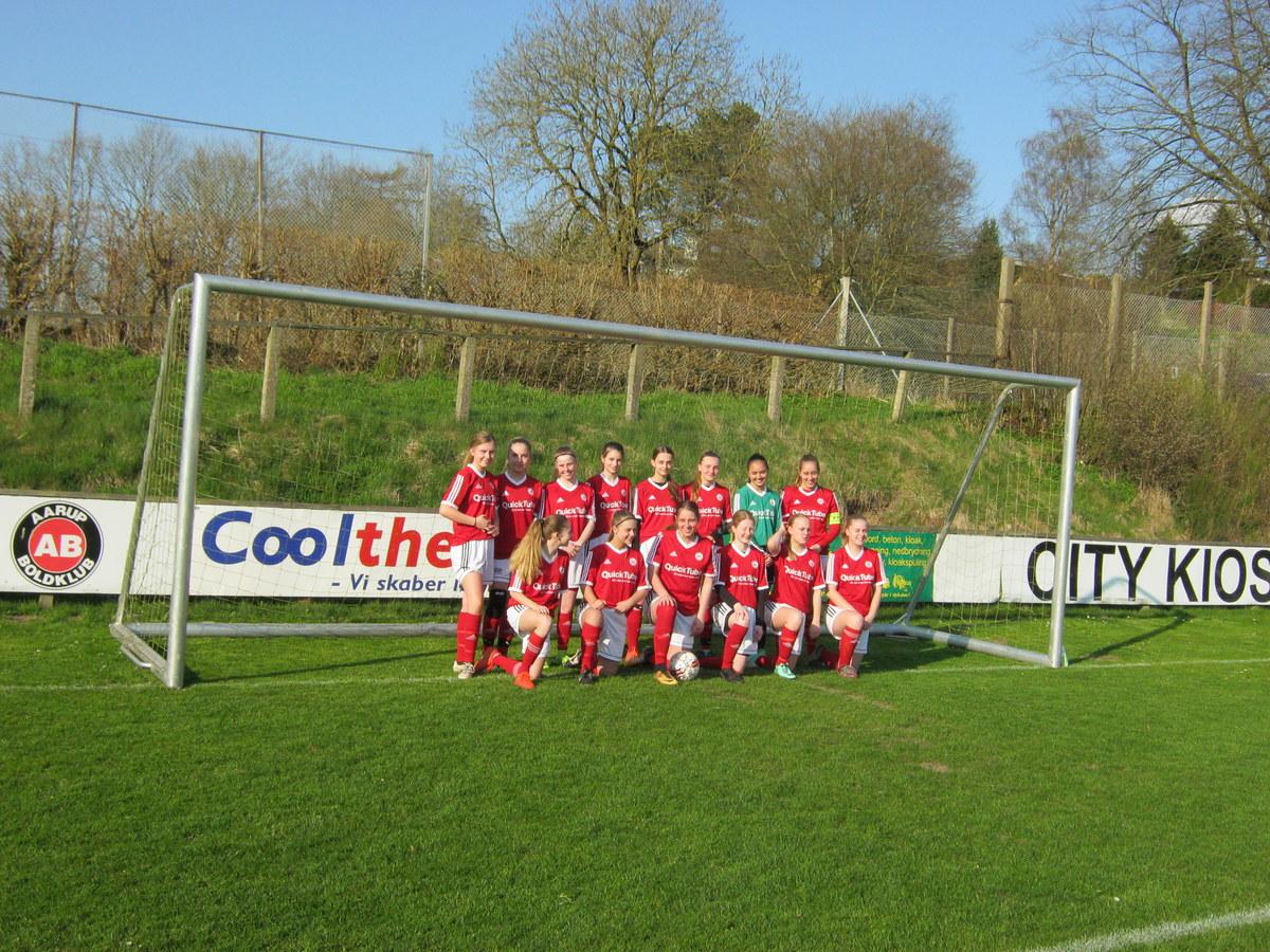 Aarup BK/fodbold med nyt pigehold U16/U18