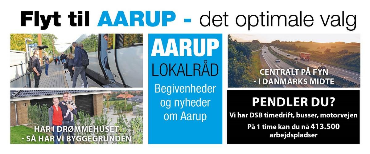 Aarup Lokalråd med årsmøde 27./8.
