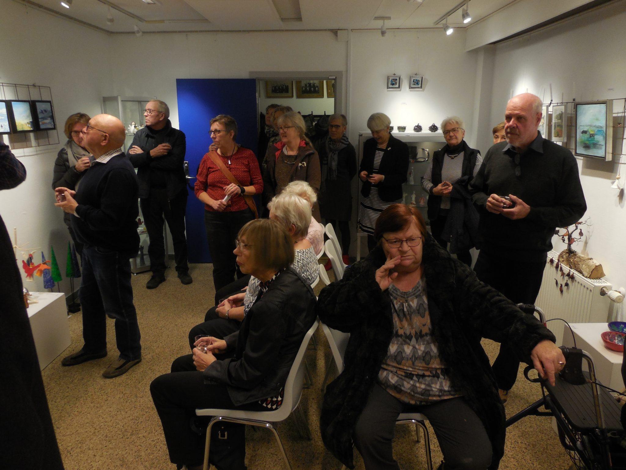 Decembers fernisering i Galleriet i Aarup