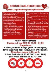 Førstehjælpskursus @ Rørup Borgerhus | Aarup | Danmark
