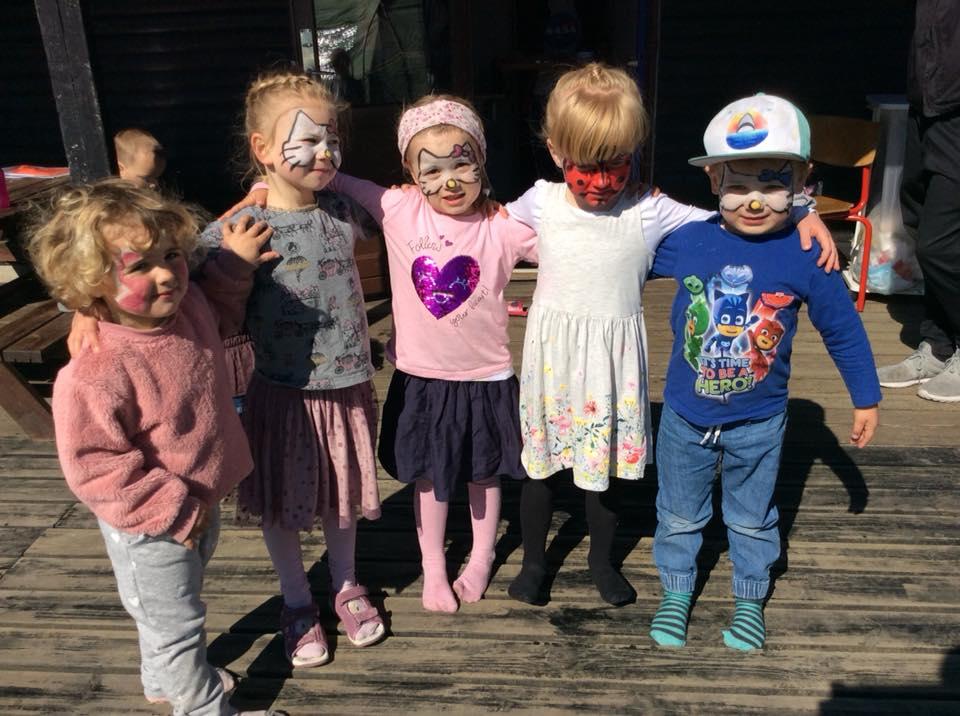 Årlig koloni styrker fællesskabet i børnehaven