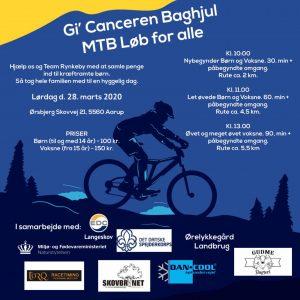 MTB - Gi' Canceren baghjul, MTB løb for alle @ Skovbrynet | Aarup | Danmark