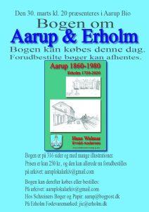 AFLYST: Bog udgivelse: Bogen om Aarup & Erholm @ Erholm fødevaremarked | Aarup | Danmark
