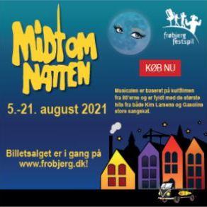 Midt om natten @ Frøbjerg Festspil | Aarup | Danmark
