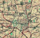 Padesø – områdekort (1954)