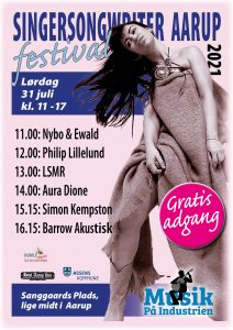 Aarup Singer Song Writer Festival @ Sanggaards Plads