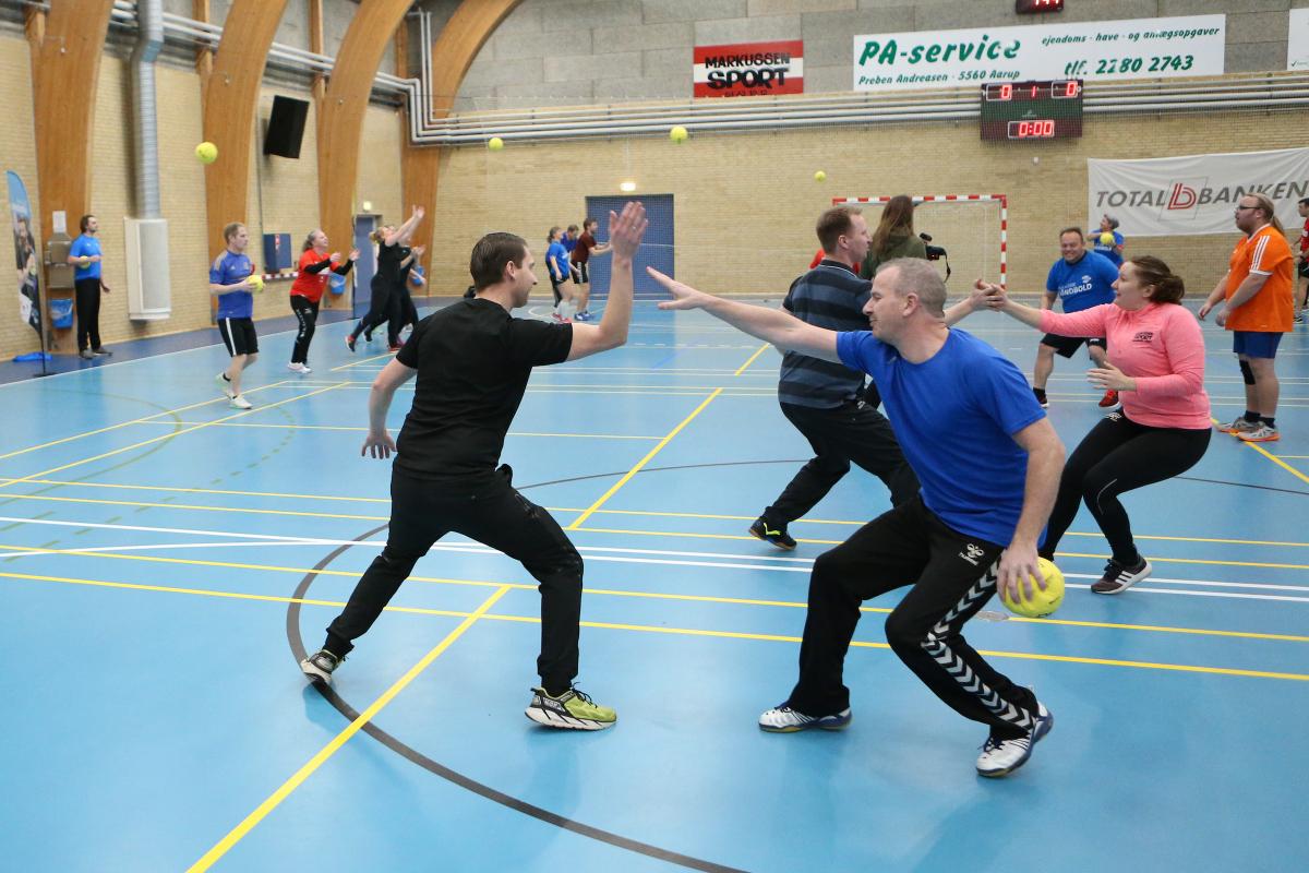 Bliv en del af fællesskabet i Aarup BK til Håndboldens Dag